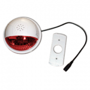 Strobe Sound Alarm SSA2 - Red Lens