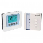 Wall Thermostat programable with LCD display plus actuator