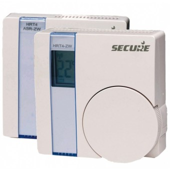 Wall Thermostat with LCD display plus actuator Z-Wave Plus