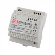 Rail DIN 24V  2.5A 60 W Power supply  Mean Well