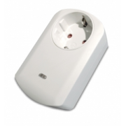 Wall plug switch with metering Philio